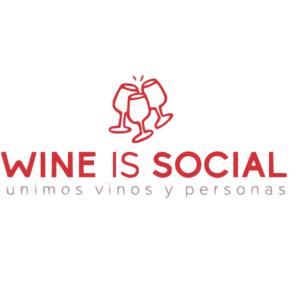 logo wine is social